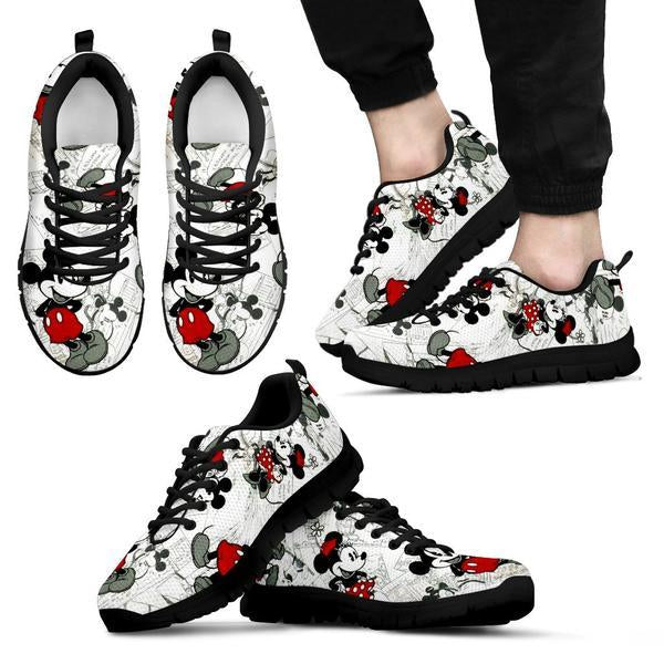 1f7c0d3300 Mickey And Minnie Disney Sneakers