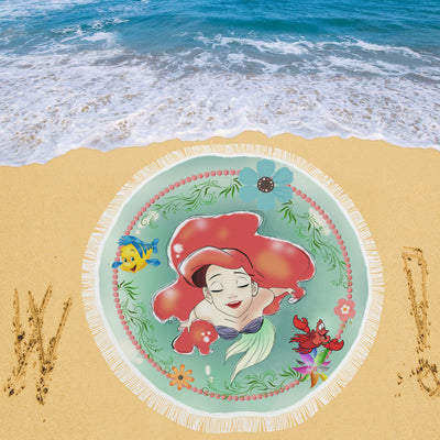 Ariel Disney Beach Blanket 4