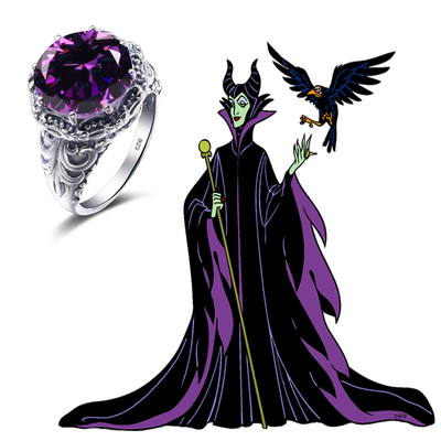 Maleficent Ring - CreatedOnDisney Evil Queen Ring