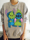 Stitch and Grinch Sweater