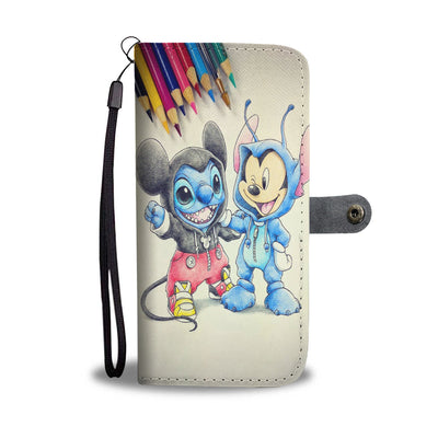 Mickey Wallet Case 4
