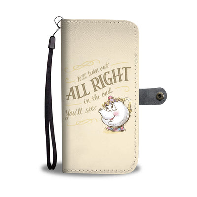 Beauty And The Beast Wallet Case 3 - CreatedOn Disney