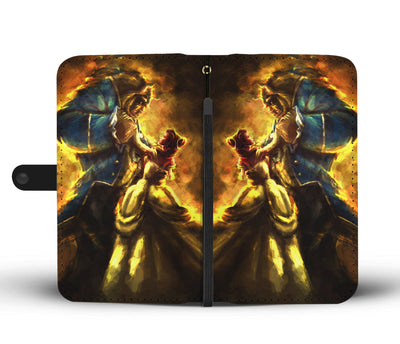 Beauty And The Beast Wallet Case 5 - CreatedOn Disney