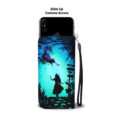 Alice In Wonderland Wallet Case 4 - CreatedOn Disney