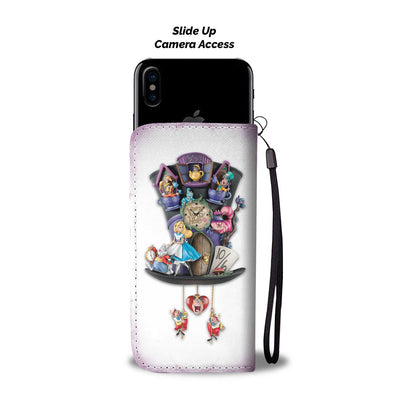 Alice In Wonderland Wallet Case 8