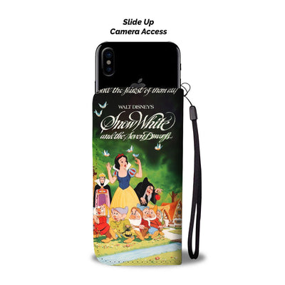 Snow White Wallet Case 8