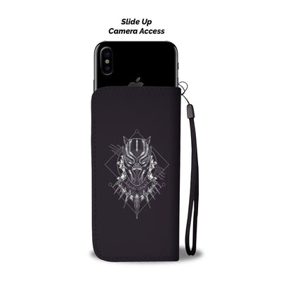 Black Panther Phone Case Wallet - CreatedOn Disney
