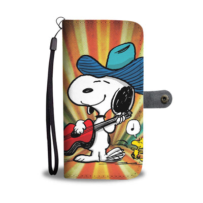 Snoopy Wallet Case 5