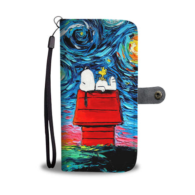 Snoopy Wallet Case 10