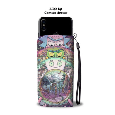 Rick and Morty Wallet Case 10