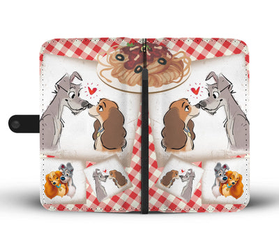 Lady and The Tramp Wallet Case 2 - CreatedOn Disney