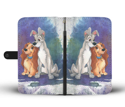 Lady and The Tramp Wallet Case 3 - CreatedOn Disney