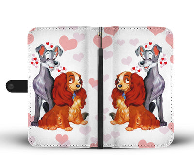 Lady and The Tramp Wallet Case 4 - CreatedOn Disney