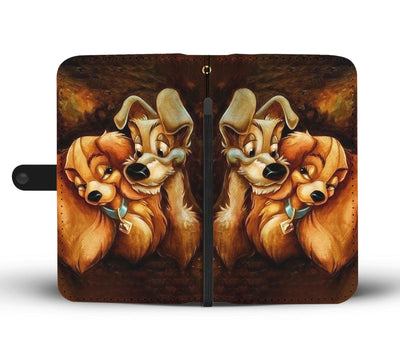 Lady and The Tramp Wallet Case 7 - CreatedOn Disney