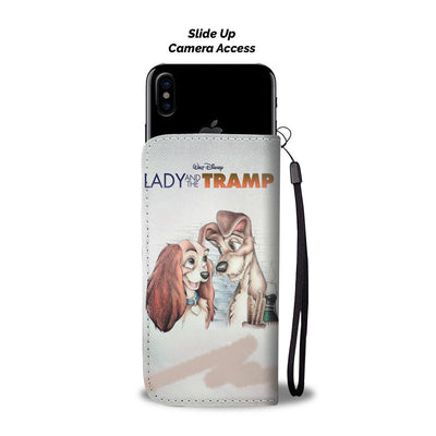 Lady and The Tramp Wallet Case 8 - CreatedOn Disney