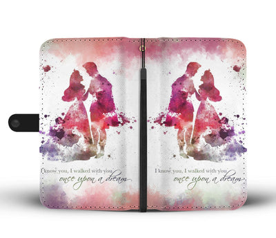 Aurora and Phillip - Sleeping Beauty Wallet Case 1 - CreatedOn Disney
