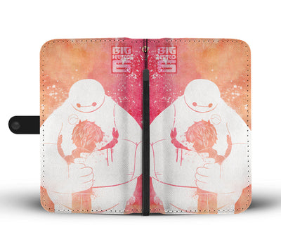 Baymax & Hiro Hamada - Big Hero 6 Wallet Case 2 - CreatedOn Disney