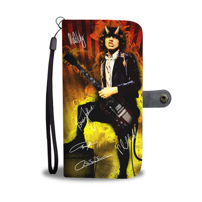 Angus Young - AC/DC Wallet Case 2 - CreatedOn Disney