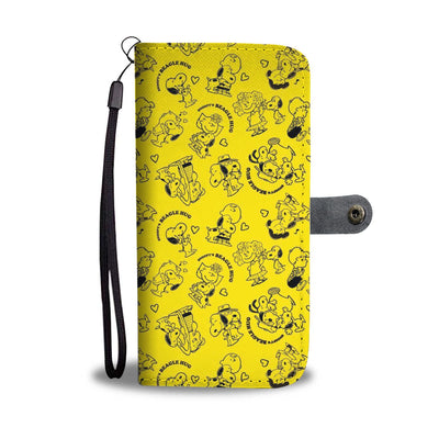 Charlie Brown & Snoopy - Snoopy Wallet Case 15