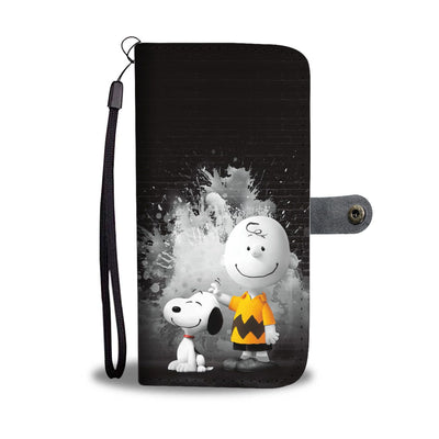 Charlie Brown & Snoopy - Snoopy Wallet Case 17