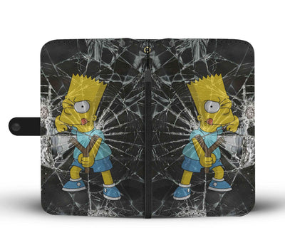 Bart Simpson - The Simpsons Wallet Case 6 - CreatedOn Disney
