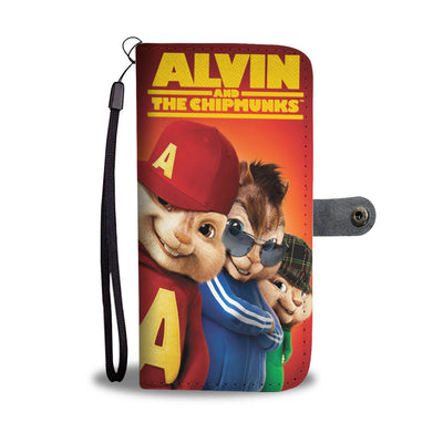 Alvin And The Chipmunks Wallet Case 3 - CreatedOn Disney