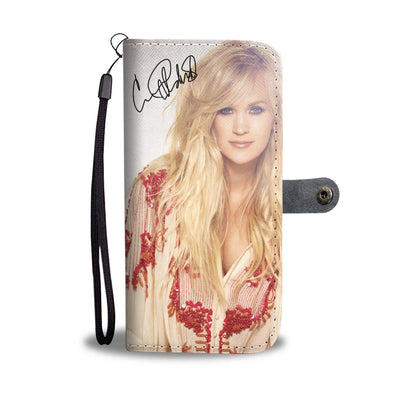 Carrie Underwood Wallet Case 2 - CreatedOn Disney