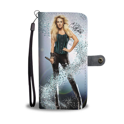 Carrie Underwood Wallet Case 3 - CreatedOn Disney