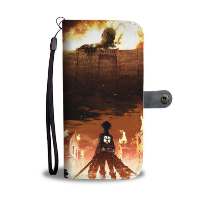 Attack on Titan Wallet Case 1 - CreatedOn Disney