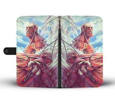 Attack on Titan Wallet Case 11