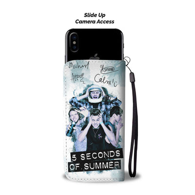 5 Seconds of Summer Wallet Case 3