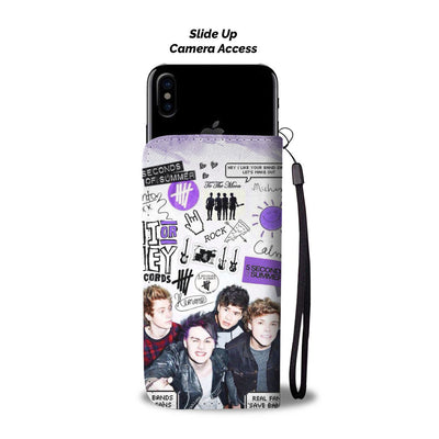 5 Seconds of Summer Wallet Case 5