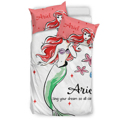 Ariel Disney Bedding Set 1 - CreatedOn Disney