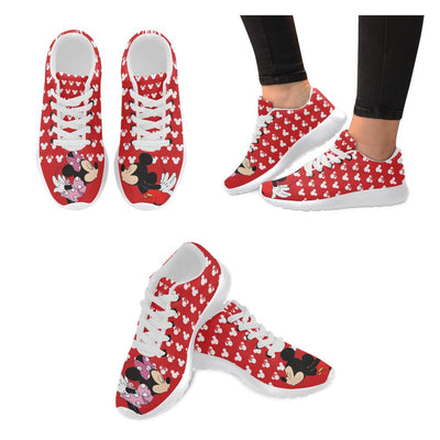 Mickey Kiss Minnie Shoes For Woman