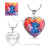 CUSTOM LUXURY HEART NECKLACE - CreatedOn Disney