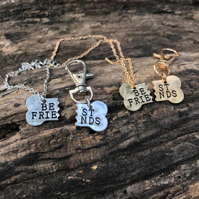 BEST FRIENDS NECKLACE & COLLAR TAG - CreatedOn Disney
