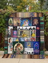 TALE AS OLD AS TIME FABRIC QUILT