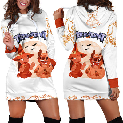 Lilo and Stitch Trick or Treat Hoodie Dress 7 - CreatedOn Disney