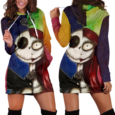 Jack Skellington Disney Hoodie Dress 3 - CreatedOn Disney