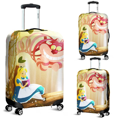 Alice in Wonderland Luggage Cover 7