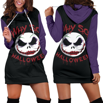 Jack Skellington Halloween Hoodie Dress 9 - CreatedOn Disney