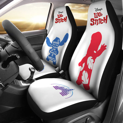 Lilo Stitch Disney Car Seat Covers 4