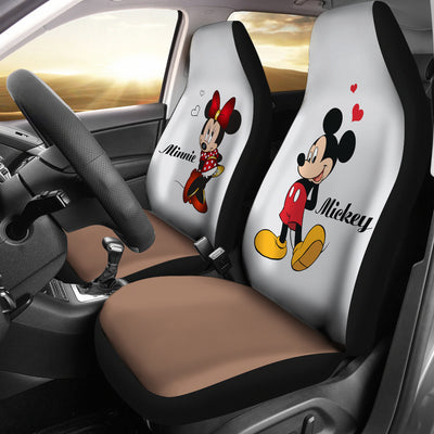 Mickey and Minnie Car Seat Covers 2