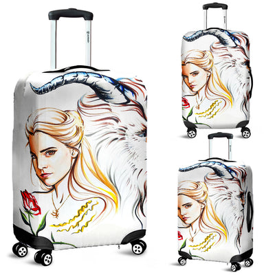 Beauty and The Beast Disney Luggage Cover 4 - CreatedOn Disney