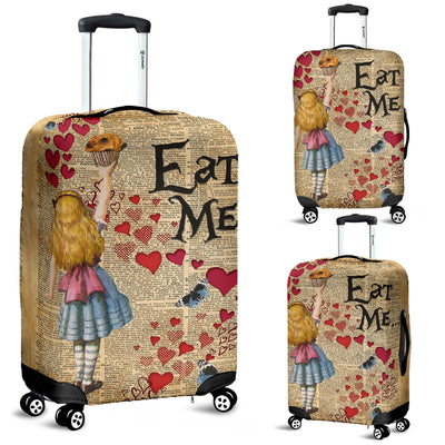 Alice in Wonderland Luggage Cover 5