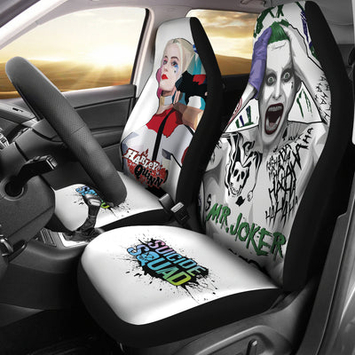 Harley Quinn and Joker Car Seat Covers 1