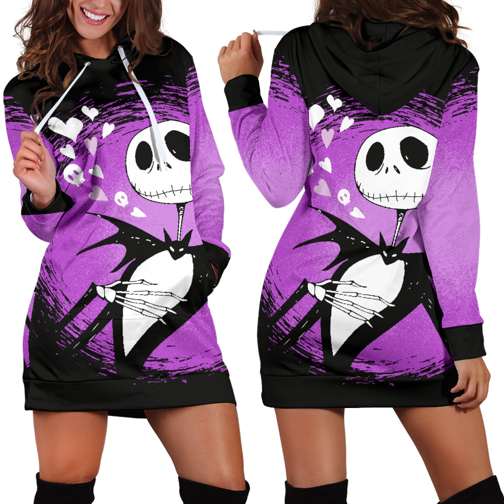 0aa080e676d Jack Skellington Disney Hoodie Dress 2 - CreatedOn Disney