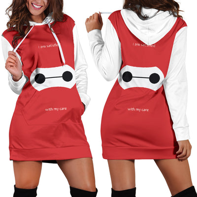 Baymax Disney Hoodie Dress 3