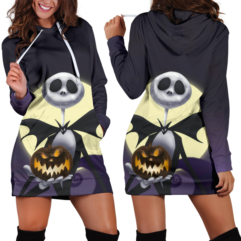 346d0d49207 Jack Skellington Disney Hoodie Dress 5 - CreatedOn Disney