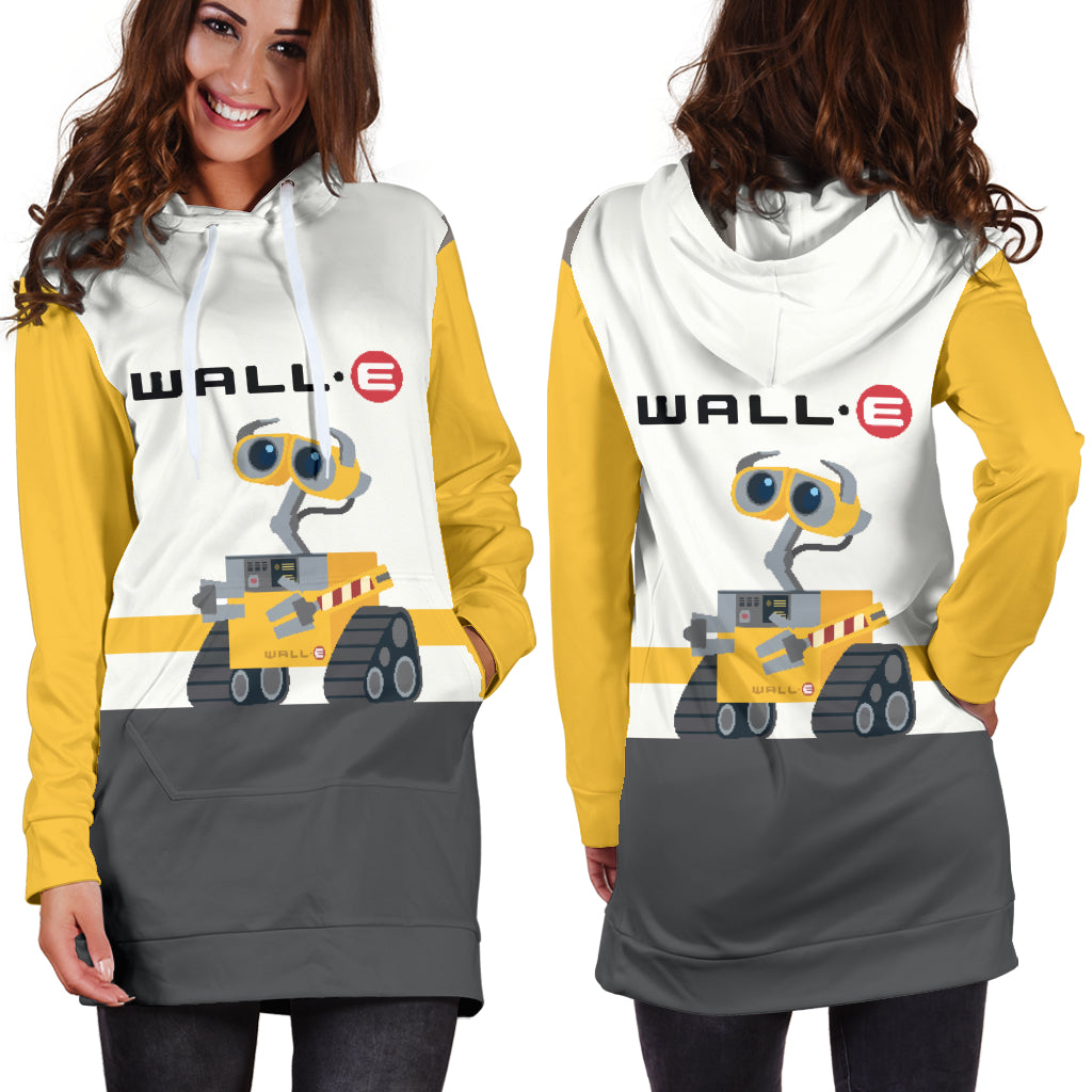 12e8bb70d2a Wall E Hoodie Dress 2 - CreatedOn Disney